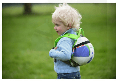 How to Backpack With a Toddler